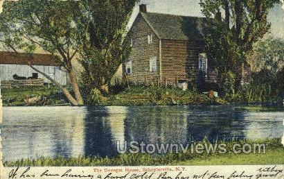 Dovegat House - Schuylerville, New York NY Postcard