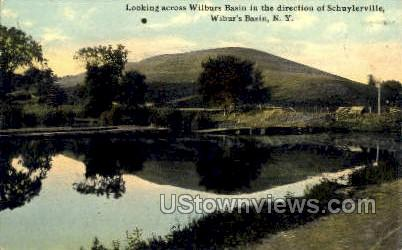 Wilburs Basin - Schuylerville, New York NY Postcard