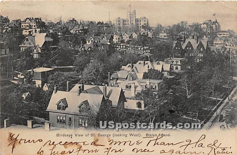 St George - Staten Island, New York NY Postcard