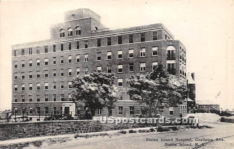 Staten Island Hospital - New York NY Postcard