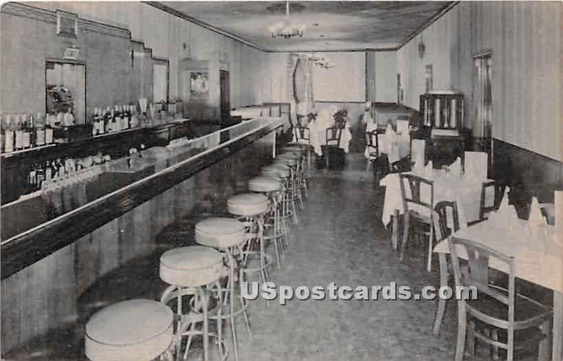 Black Hawk Caf» - Staten Island, New York NY Postcard