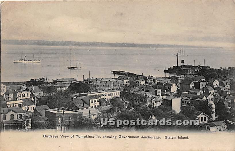 Tompkinsville - Staten Island, New York NY Postcard