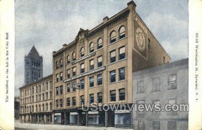 Washington St. - Syracuse, New York NY Postcard