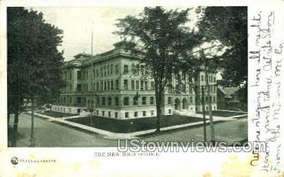 The New High School - Syracuse, New York NY Postcard