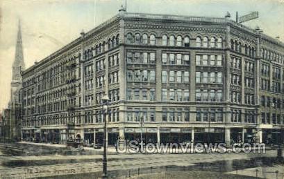 The Yates - Syracuse, New York NY Postcard