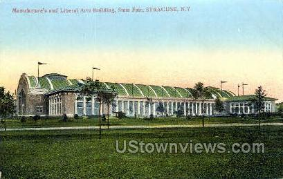 Manufacture's and Liberal Arts Bldg - Syracuse, New York NY Postcard