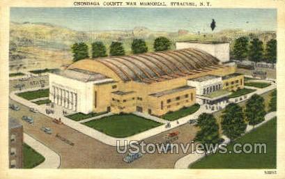 Onondaga County War Memorial - Syracuse, New York NY Postcard
