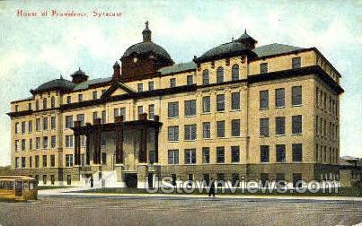 House of Providence - Syracuse, New York NY Postcard