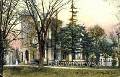 Yates Castle - Syracuse, New York NY Postcard