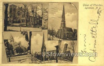 Reformed, May Memorial Churches - Syracuse, New York NY Postcard