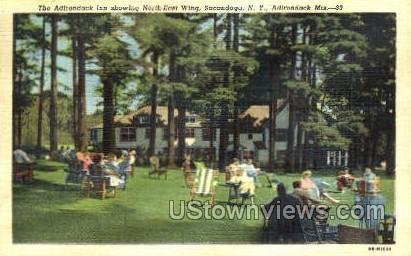 Adirondack Inn - Syracuse, New York NY Postcard
