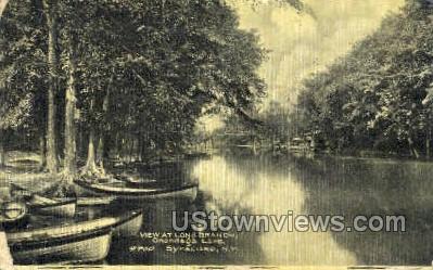 Long Branch, Onondaga Lake - Syracuse, New York NY Postcard