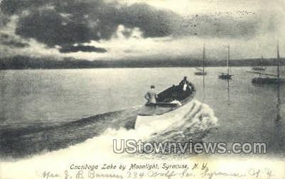 Onondaga Lake - Syracuse, New York NY Postcard