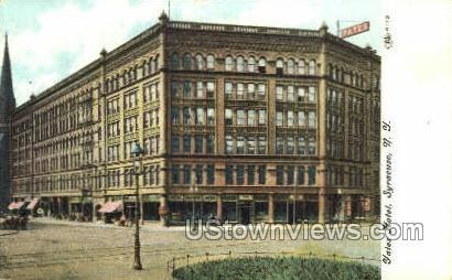 Yates Hotel - Syracuse, New York NY Postcard