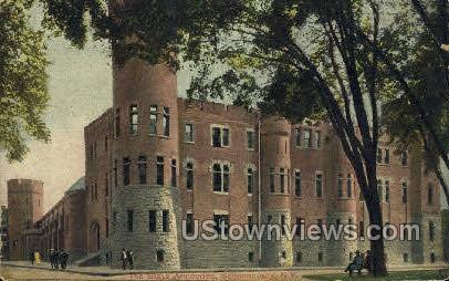 The State Armouries - Schenectady, New York NY Postcard