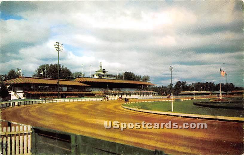 Saratoga Raceway - Saratoga Springs, New York NY Postcard