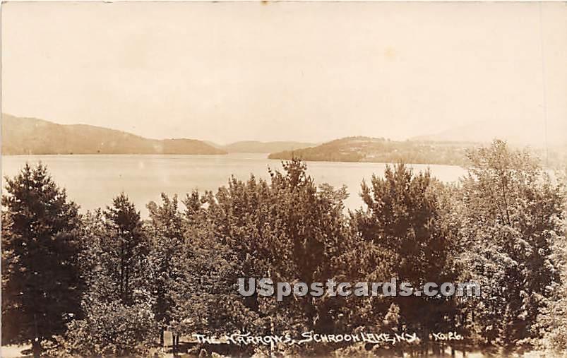 The Narrows - Schroon Lake, New York NY Postcard