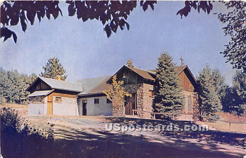 Episcopal Church - Schroon Lake, New York NY Postcard
