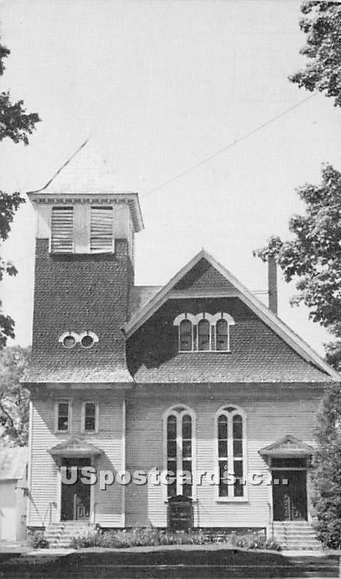 Village Baptist Church - Sherburne, New York NY Postcard