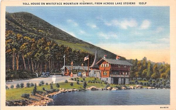 Toll House Saranac Lake, New York Postcard
