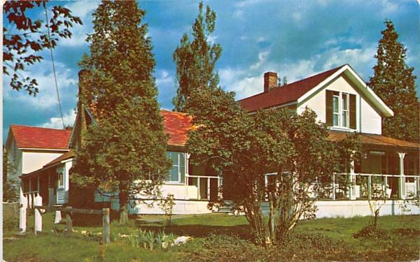Robert Louis Stevenson Memorial Cottage Saranac Lake, New York Postcard