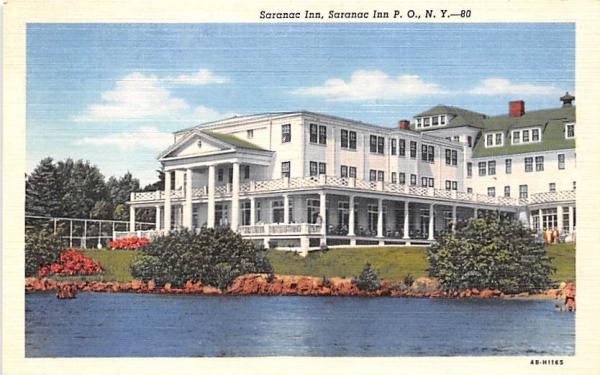 Saranac Inn Saranac Lake, New York Postcard