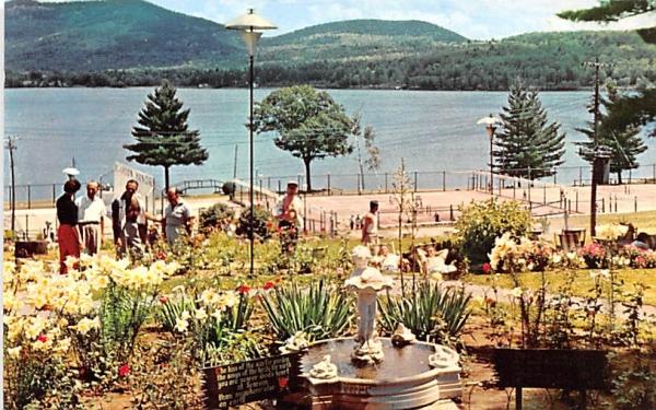 Playground Schroon Lake, New York Postcard
