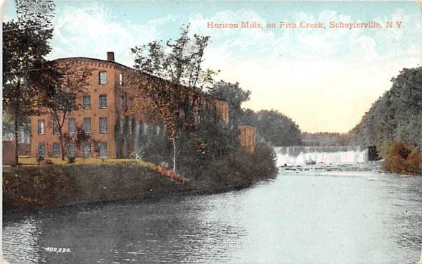 Horicon Mills Schuylerville, New York Postcard
