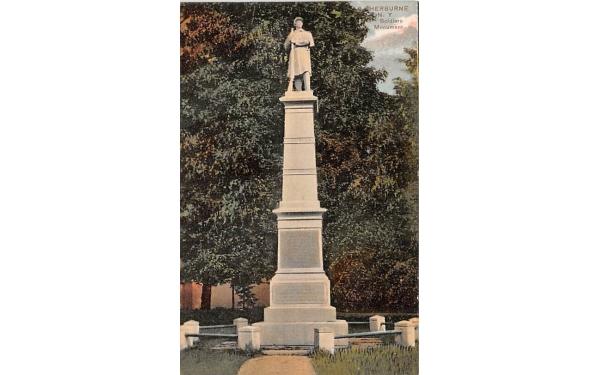 Civil War Soldiers Monument Sherburne, New York Postcard