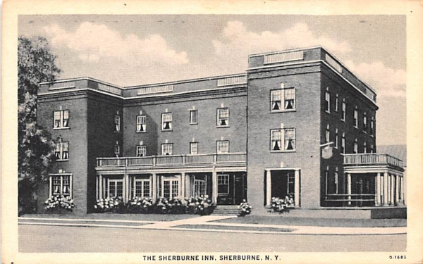The Sherburne Inn New York Postcard