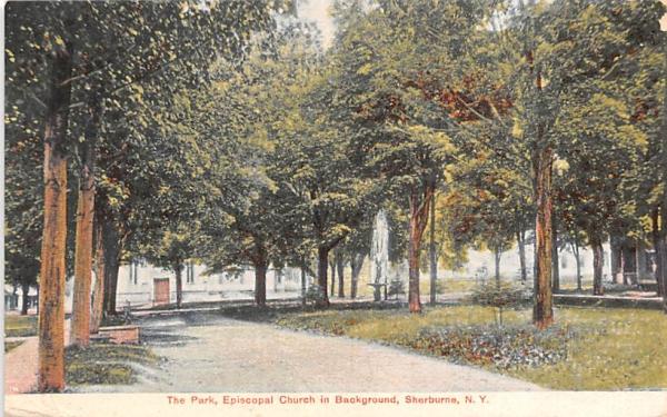 The Park Sherburne, New York Postcard