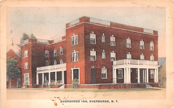 Sherburne Inn New York Postcard