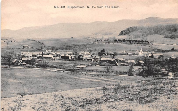 From the South Stephentown, New York Postcard