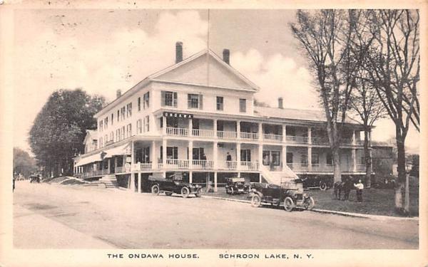 Ondawa House Schroon Lake, New York Postcard