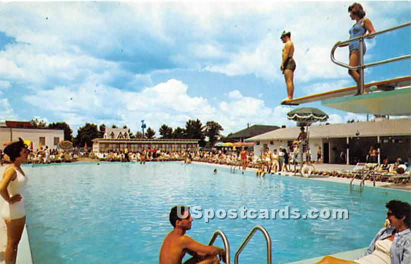Windsor Hotel - South Fallsburg, New York NY Postcard