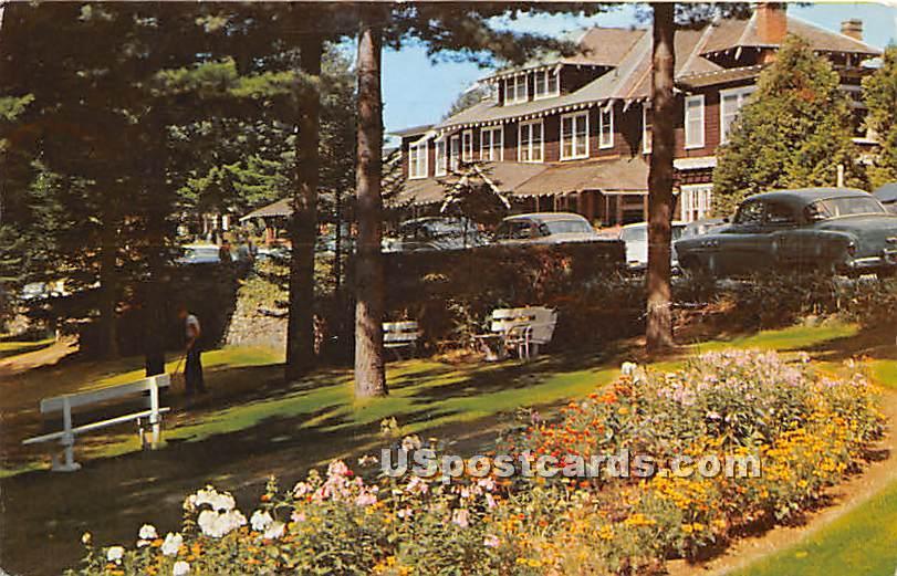 Word of Life Inn - Schroon Lake, New York NY Postcard