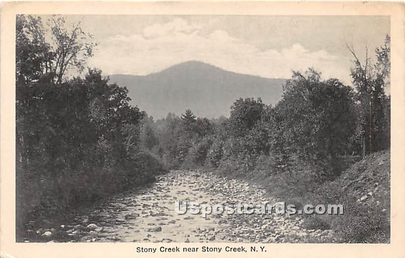 Stony Creek - New York NY Postcard