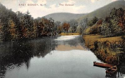 The Ouleout Sidney, New York Postcard