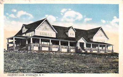 Country Club Stamford, New York Postcard