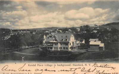 Kendal Place Stamford, New York Postcard