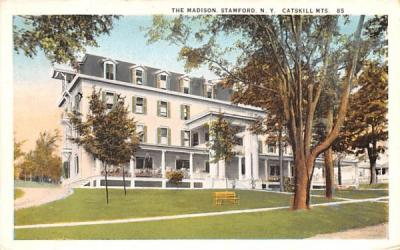 The Madison Stamford, New York Postcard