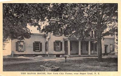 The Manor House Sugar Loaf, New York Postcard