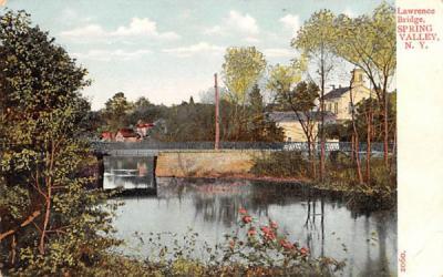 Law Spring Valley, New York Postcard