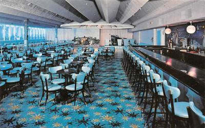 Laurels Hotel & Country Club Sackett Lake, New York Postcard