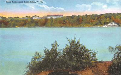 Sand Lake Shandelee, New York Postcard