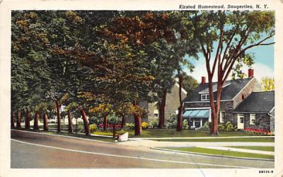 Kiersted Homestead Saugerties, New York Postcard