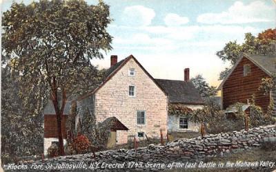 Klocks Fort St Johnsville, New York Postcard