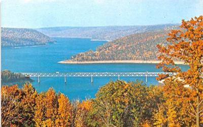 Cornplanter Bridge Salamanca, New York Postcard