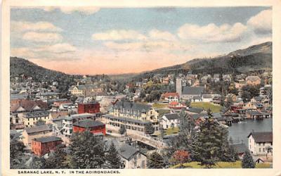 In the Adirondacks Saranac Lake, New York Postcard