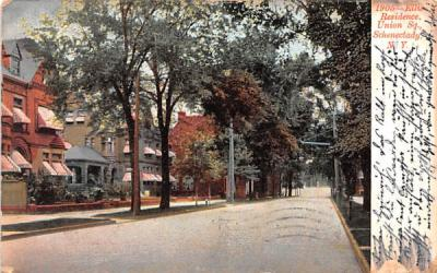 Ellis Residence Schenectady, New York Postcard